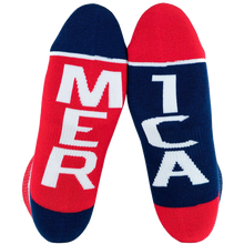 Fuel - Std Low Featherlite Ii Merica/mer Ica Wht - Skateboard Socks