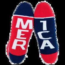 Fuel - Sml Low Featherlite Ii Merica/mer Ica Wht - Skateboard Socks
