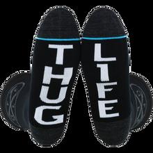 Fuel - Std Crew Iron Cross/thug Life - Skateboard Socks
