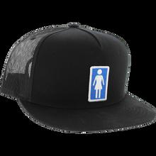 Girl - Everyday Og Hat Adj-black W Blue/wht