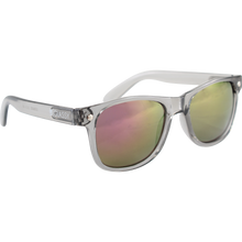 Glassy Sunhaters - Leonard Clear Grey/color Mirror Sunglasses