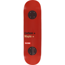 Globe - G3 Bar Deck-8.25 Red Impact+ - Longboard Deck