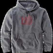 Habitat - Monopod Hd/swt M-washed Grey - Skateboard Sweatshirt