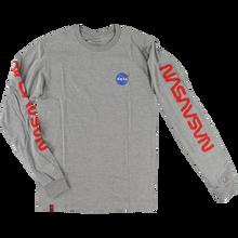 Habitat - Nasa Worm Repeat L/s Xl-grey - T-Shirt