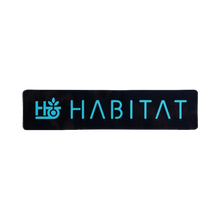 Habitat - Pod Stencil Decal Blue 1pc