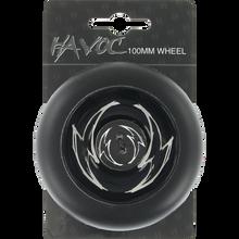 Havoc - 100mm Spoked Wheel Blk/blk W/abec 9 Bearings
