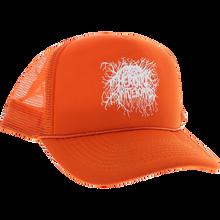 Heroin - Roots Logo Mesh Hat Adj-orange/wht