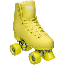 Impala Rollerskates - Sidewalk Skates Voltage Green-size 4