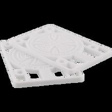 "Independent - Genuine Parts 1/8"" Riser Set White - Skateboard Risers"