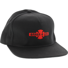 Independent - Baker 4 Life Hat Adj-black