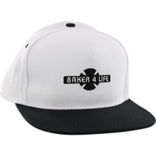 Independent - Baker 4 Life Hat Adj-white
