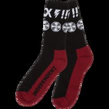 Independent - Ante Crew Socks Black 1pr - Skateboard Socks