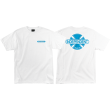 Independent - Baseplate Ss S-white - T-Shirt