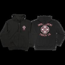 Independent - Pennant Zip Hd/swt S-black - Skateboard Sweatshirt