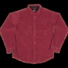Independent - Roy Corduroy L/s M-burgundy - T-Shirt