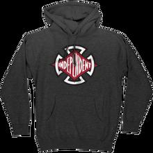 Independent - Diamond Cut Hd/swt M-charcoal Heather - Skateboard Sweatshirt