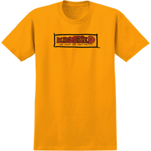 Krooked - Spiked Ss M-gold/red - T-Shirt