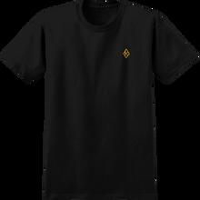 Krooked - Diamond K Ss S-black - T-Shirt
