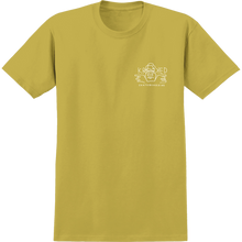 Krooked - Arketype Dude Ss S-mustard - T-Shirt