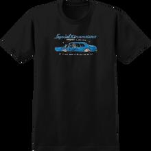 Krooked - Car Club Ss S-black/blue - T-Shirt