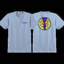 Krooked - Moonsmile Ii Ss M-light Blue - T-Shirt