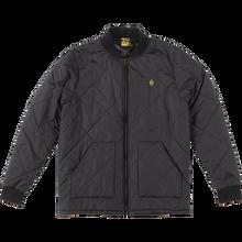 Krooked - Diamond K Quilt Jacket Xl-black