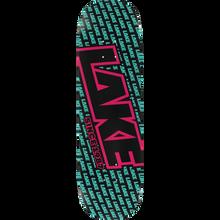 Lake - Miami Vice Logo Deck-8.3 Blk/blue/pink - Skateboard Deck