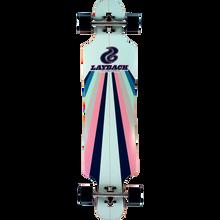 Layback Longboards - Sunstripe Dt Complete-9.75x40 Mint - Complete Skateboard