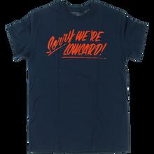 Lowcard - Sorry Ss L-navy - T-Shirt