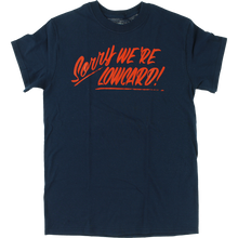 Lowcard - Sorry Ss S-navy - T-Shirt