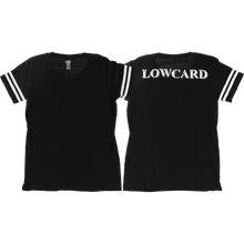 Lowcard - She Blitz Girls Jersey Tee L-black - Womens Shirt