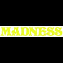 Madness - Logo Decal Single Yellow