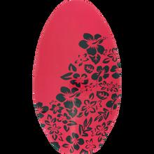 Miscellaneous - Wooden Skimboard Tattoo Flower Neon Pink