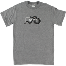 Politic - Snake In A Box Ss M-heather Grey - T-Shirt