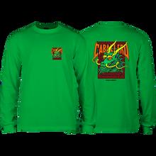 Powell Peralta - Cab Street Dragon L/s L-kelly Green - T-Shirt