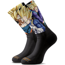 Primitive - Dbz Heros Crew Socks Black - Skateboard Socks