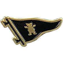 Primitive - Pennant Bear Lapel Pin
