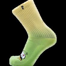 Psockadelic - Burnt Crew Socks Green 1pr - Skateboard Socks