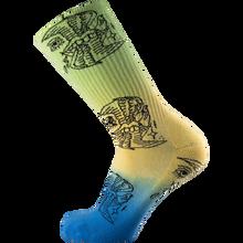 Psockadelic - Dirtsqid Siren Crew Socks 1pr - Skateboard Socks