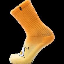 Psockadelic - Fried Crew Socks Orange 1pr - Skateboard Socks
