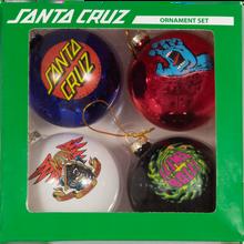 Santa Cruz - 2019 Holiday Ornament Set 4pk