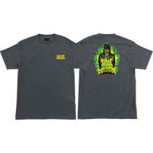 Santa Cruz - Knox Fire Pit Ss S-charcoal Heather - T-Shirt