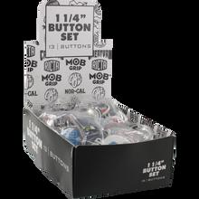 "Santa Cruz - Brands 120pc Assorted 1.25"" Button Box Set"