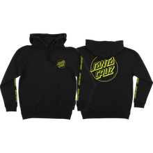 Santa Cruz - Opus Dot Sleeves Hd/swt L-black/yel - Skateboard Sweatshirt