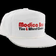 Send Help - Help Modica Bros Poplin Hat Adj-white