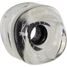 Shark Wheels - Dna 72mm 78a Clear/black - Skateboard Wheels (Set of Four)