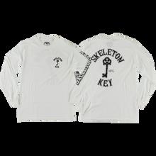 Skeleton - Key Key Logo L/s L-white - T-Shirt