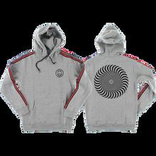 Spitfire - Classic Swirl Stripe Hd/swt L-heather Grey - Skateboard Sweatshirt