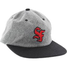 Spitfire - Big League Hat Adj-grey/blk