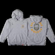 Spitfire - Bighead Classic Hd/swt Xl-heather Grey/gold - Skateboard Sweatshirt